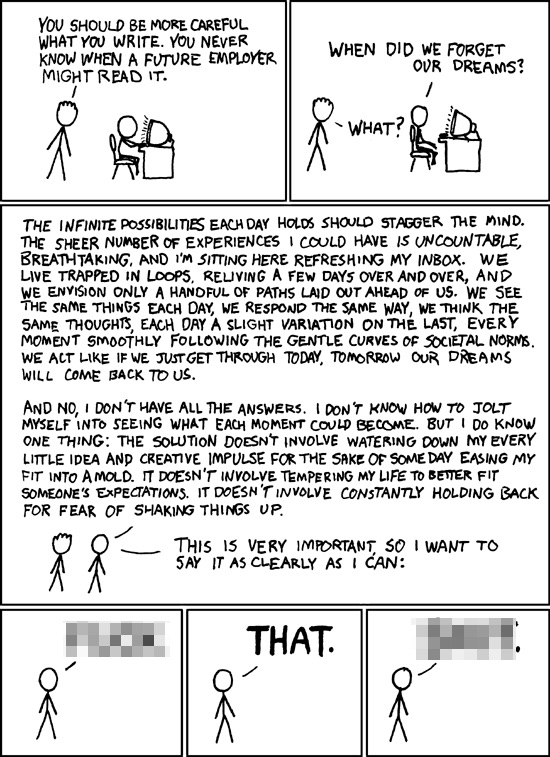 Image of XKCD Comic 137