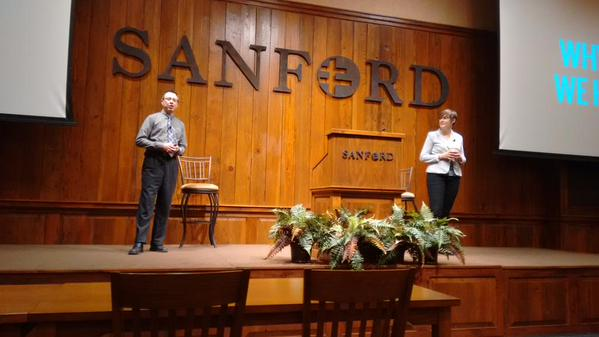 Speaking at Sanford Research Center - Ethics Seminar