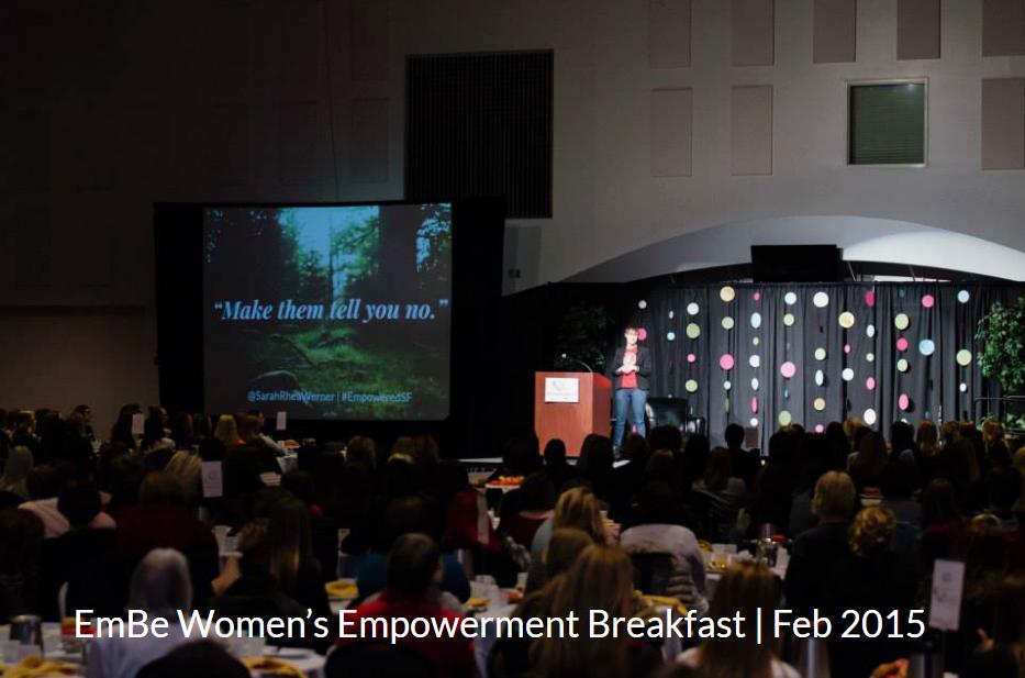 Featured Speaker - EmBe Breakfast 2015