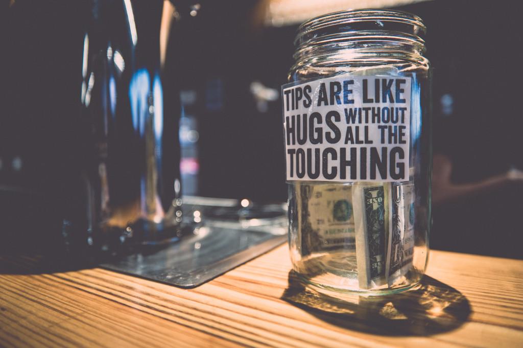 Image of a Tip Jar