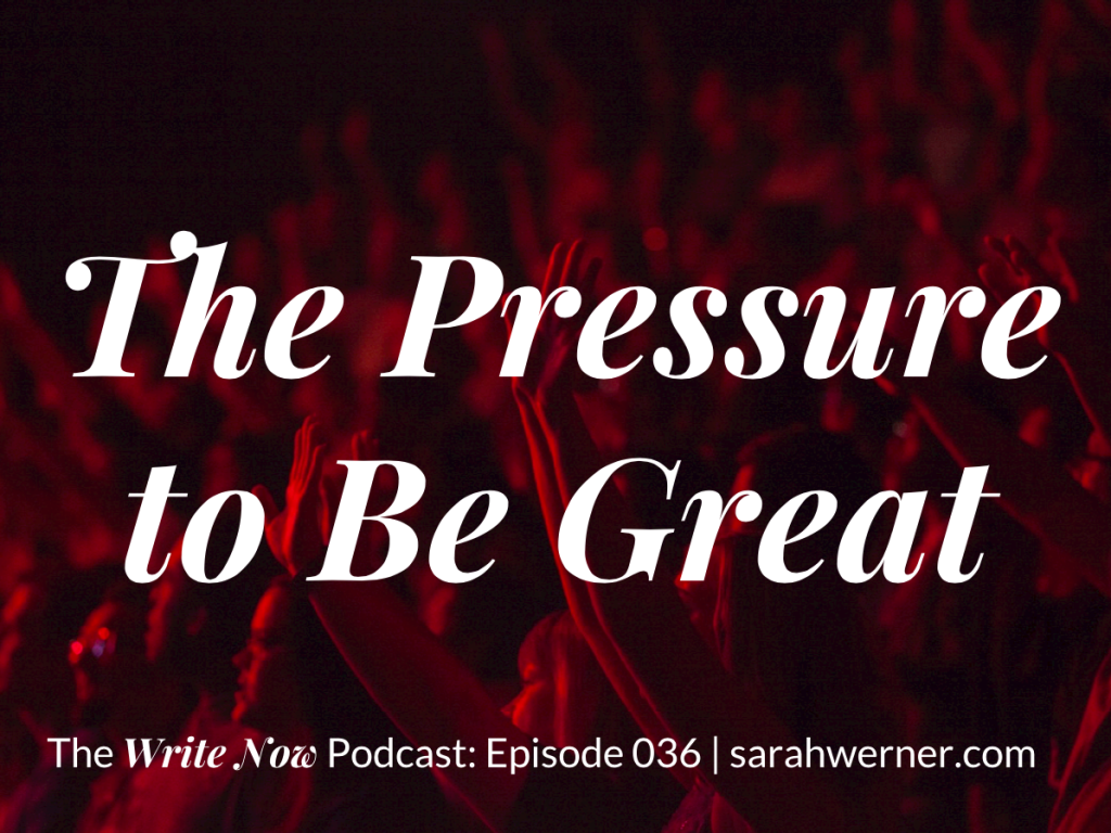 The Pressure to Be Great Image