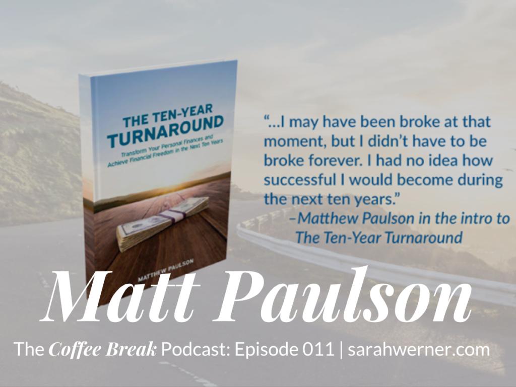Image of Matt Paulson's new book
