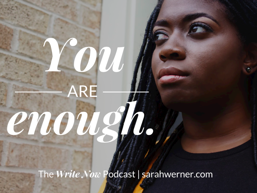 You are enough - image