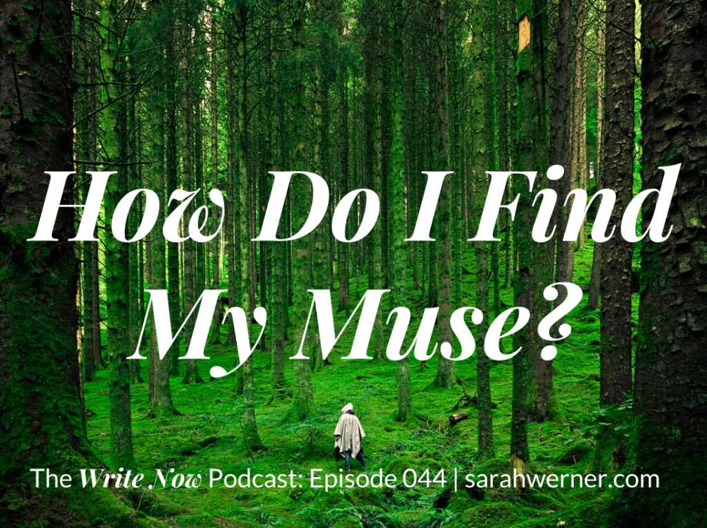 Image for How Do I Find My Muse?