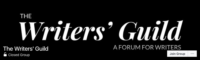 The Writers' Guild FB Group Image
