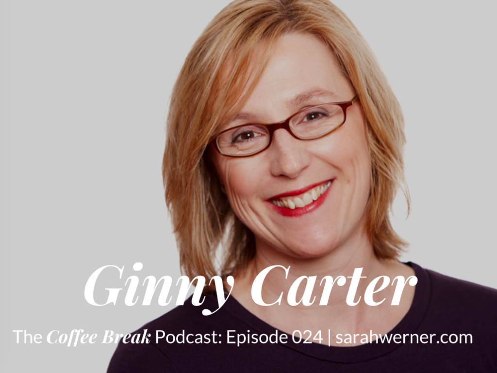 Ginny Carter interview title card