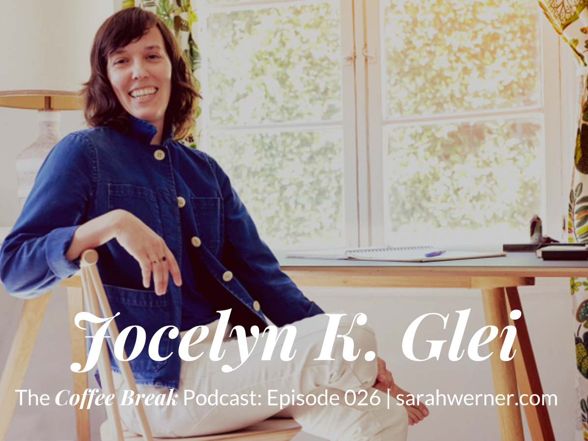 Coffee Break 027: Jocelyn K. Glei