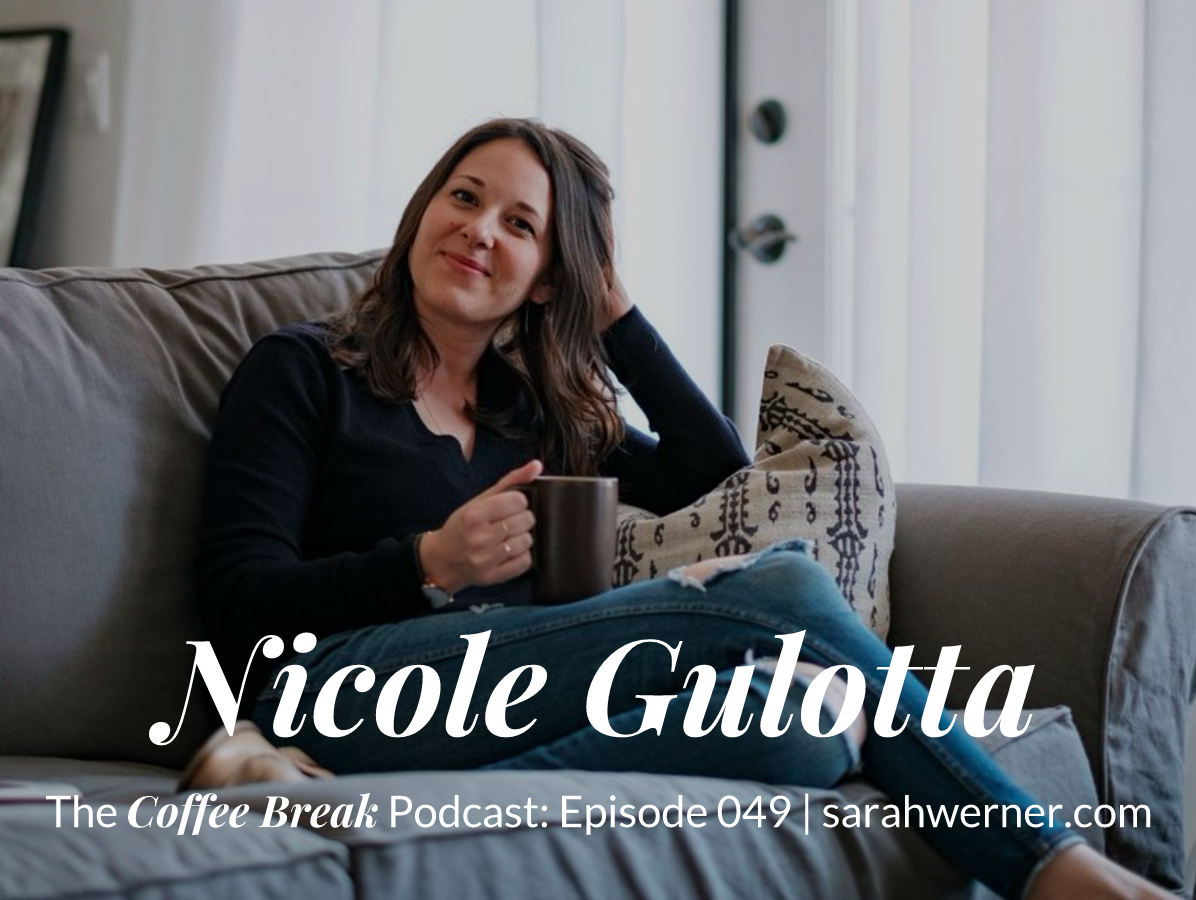 Coffee Break 049: Nicole Gulotta
