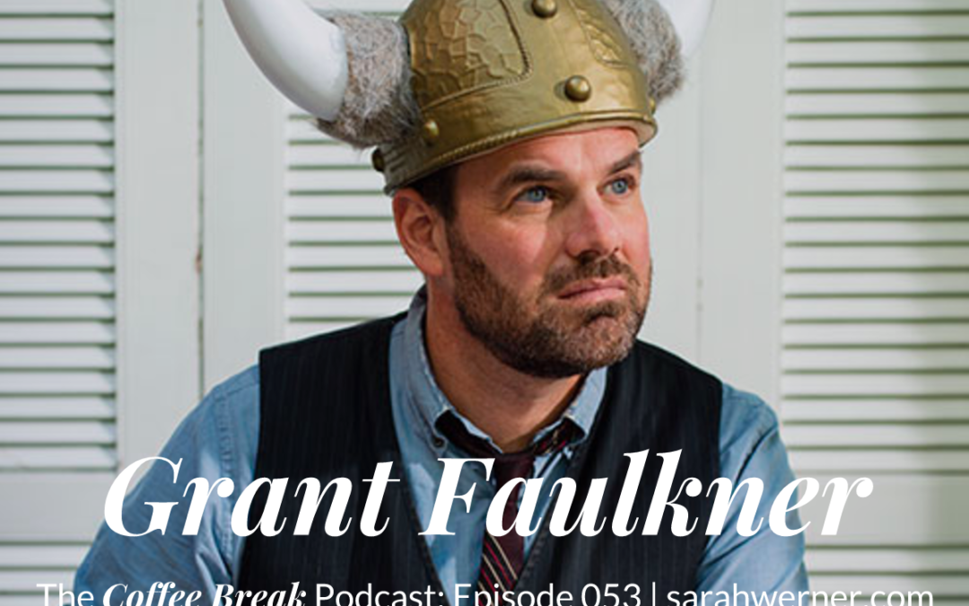 Coffee Break 053: Grant Faulkner